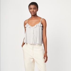 FRENCH CONNECTION $68 Laiche Stripe Camisole Top